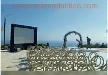 sewa led screen bali denpasar wedding