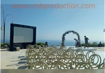 sewa led screen bali denpasar wedding